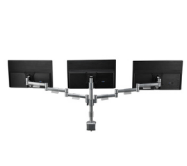Manual triple monitor Arm